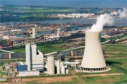 Steinkohlekraftwerk in Rostock