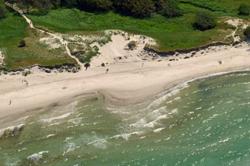 Sandige Küste