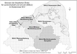 Amtsbereich des StALU Vorpommern (Küstengewässer)